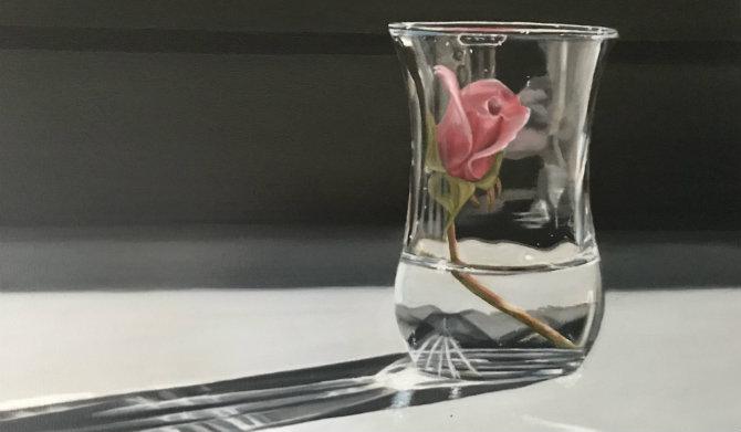 Roosje in glas